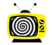 Television as influential mass media Royalty Free Stock Images