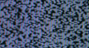 Television bad signal noise background stock images
