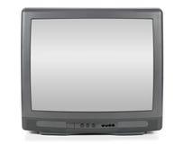 Television. Big tube television screen display Royalty Free Stock Photography