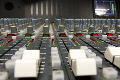 Television Broadcast Gallery Royalty Free Stock Images
