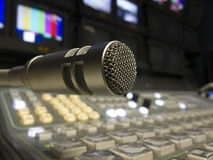 Television Broadcast Gallery Royalty Free Stock Image