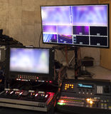 Television Broadcast Gallery. Stock Image