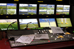 Television Broadcast Gallery Stock Images