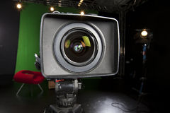 Television Camera Lens Royalty Free Stock Photo