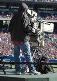 Television Cameraman Stock Photography