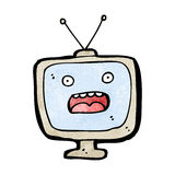television cartoon character Stock Image