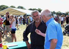 Television celebrity chef and baker Paul Hollywood at the Bucks Royalty Free Stock Photos