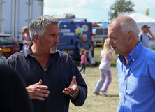 Television celebrity chef and baker Paul Hollywood at the Bucks Stock Images