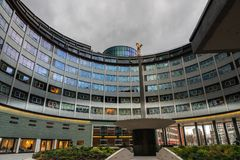 Television Centre in London royalty free stock photos
