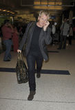 Television chef Gordon Ramsay at LAX airport Royalty Free Stock Photos