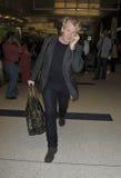 Television chef Gordon Ramsay at LAX airport Royalty Free Stock Photos