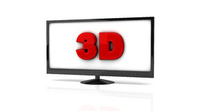 Tv in 3d Stock Photography