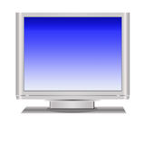Television Display Stock Photo