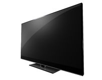 Television Flat Sceen Royalty Free Stock Photos