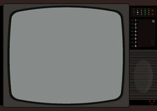 Television frame Royalty Free Stock Photo