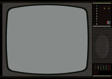 Television frame Royalty Free Stock Image