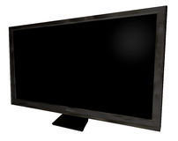 Television front angle Royalty Free Stock Photo