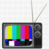 Television Illustration Royalty Free Stock Images