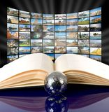 Television and internet production technology Royalty Free Stock Photos