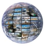 Television and internet production technology Stock Images