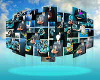 Television and internet production Royalty Free Stock Photos