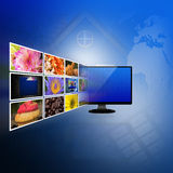 Television and internet production technology concept Stock Photography
