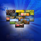 Television and internet production technology concept Stock Photo