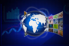 Television  and  internet  production technology concept Royalty Free Stock Photography