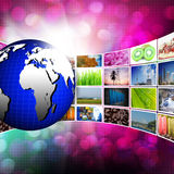 Television and internet production technology concept Royalty Free Stock Photos