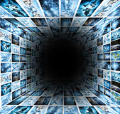 Television and internet production technology concept Stock Photos
