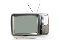 A television isolated Stock Photos
