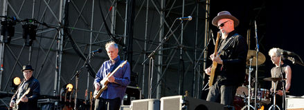 Television (legendary rock band) performance at Heineken Primavera Sound 2014 Stock Image