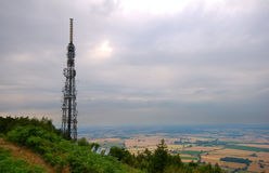 Television mast Stock Image