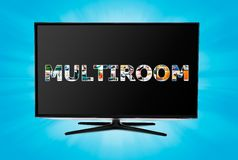 Television multi-room technology Stock Photography