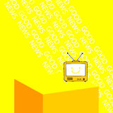 Television, news, telecommunication Stock Photography