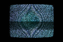 Television noise Royalty Free Stock Photography