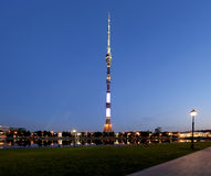 Free Television (Ostankino) Tower At Night, Moscow, Russia Stock Photo - 78438240