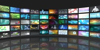 Television Production Technology Royalty Free Stock Photography
