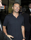 Television/radio presenter Ryan Seacrest at LAX Stock Image