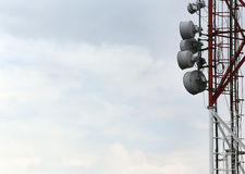 Television and radio tower. In Budapest, Harmashatarhegy Royalty Free Stock Images