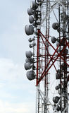 Television and radio tower Royalty Free Stock Photo