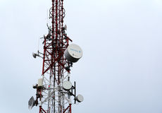 Television and radio tower Stock Image