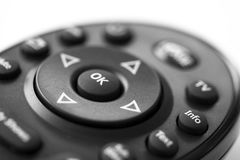 Television Remote Royalty Free Stock Photo