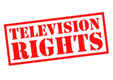 TELEVISION RIGHTS Stock Photos