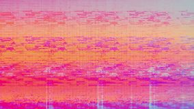 Television Screen Digital Pixel Snow Noise. Unique design abstract television screen digital pixel snow noise caused by bad signal reception glitch error video royalty free stock image