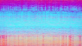 Television Screen Digital Pixel Snow Noise. Unique design abstract television screen digital pixel snow noise caused by bad signal reception glitch error video stock photo