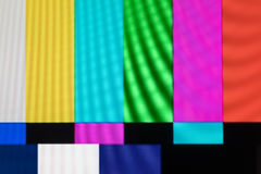 Television screen with static noise caused by bad signal recepti. On Royalty Free Stock Images