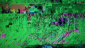 Television screen stock footage
