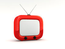 Television set Royalty Free Stock Image