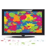 Television set Stock Photos